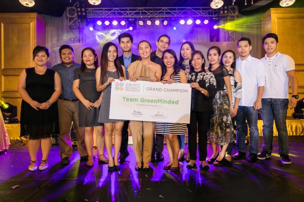 Cebu RN - Team GreenMinded of Aboitiz Construction_1stPlace