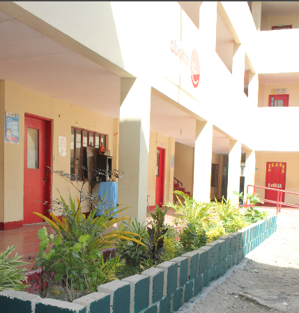 Finished bricks were used by the Subangdaku TechVoc school as plant bricks.