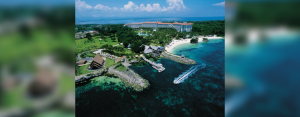 TOURISM AND HOSPITALITY LEADER. Shangri-La's Mactan Resort and Spa in Cebu, one of the most popular resorts in the country, has chosen AboitizPower's Cleanergy to energize its operations and support its environmental sustainability initiatives.