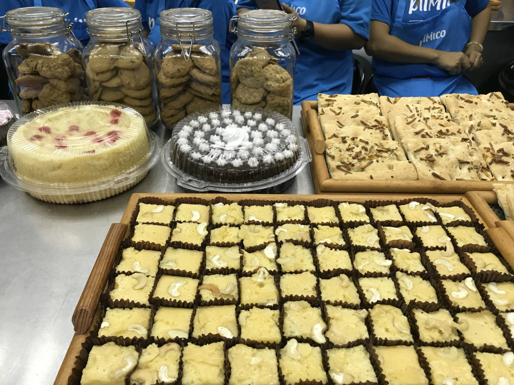 Cakes and cookies baked by PSG wives