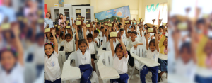Around 150 students of Bato Elementary School in Toledo City, Cebu, had a pleasant surprise last June 27 when representatives of AboitizPower and Aboitiz Foundation announced a four-month wellness and nutrition program that will not only nourish their bodies, but also their minds.