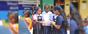 Over 2000 primary schoolchildren in the towns of Manolo Fortich and Impasug-ong in Bukidnon received school kits from AboitizPower subsidiary, Hedcor on June 18 to 22, 2018.