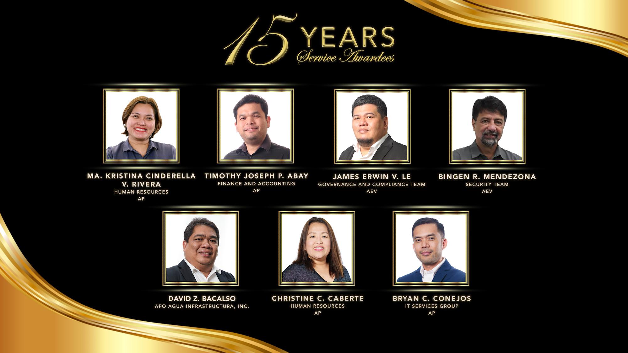 EIA Deck 15 years awardee 2