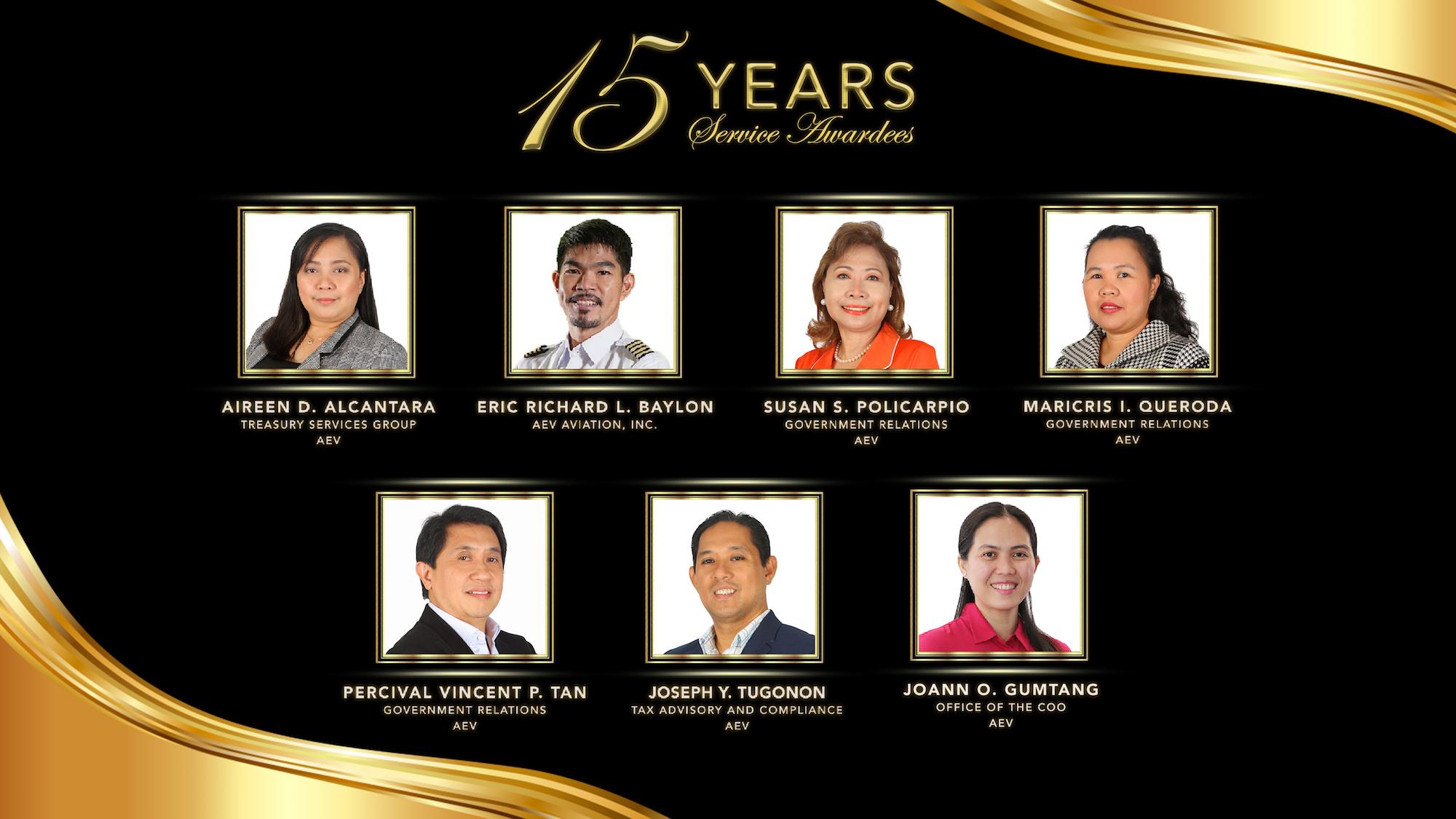 EIA Deck 15 years awardee