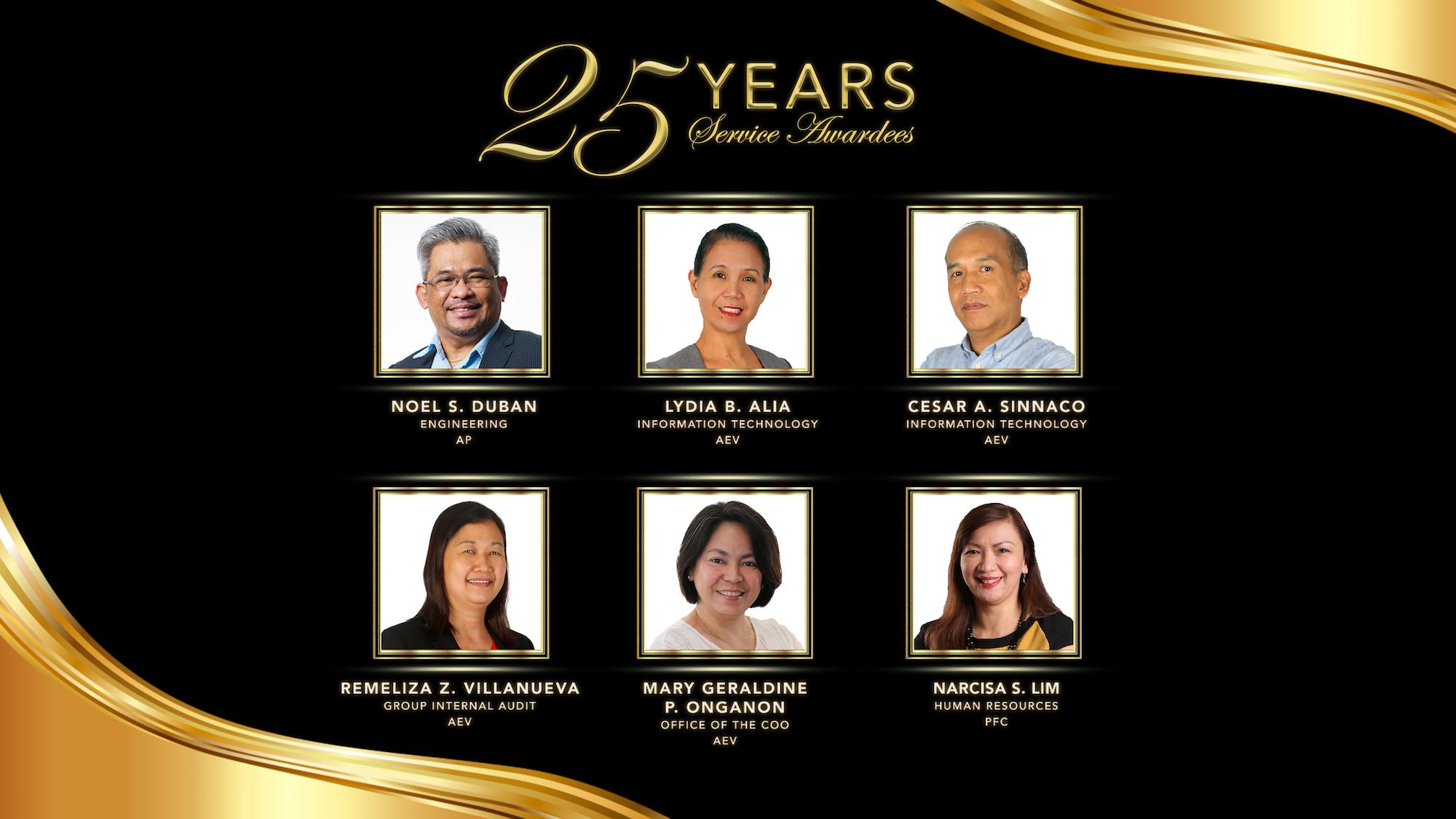 EIA Deck 25 years awardee
