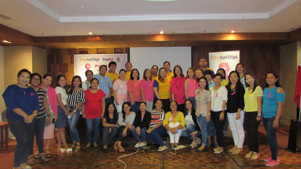 Project Pink - DepEd Region 7