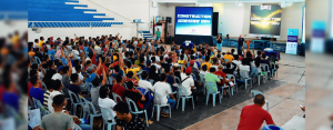 Around 350 construction workers participated in the first Construction Workers' Day event organized by Davao Light on September 30, 2018 at the Davao City Recreation Center.