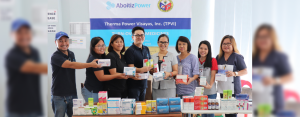 Last October 12, the AboitizPower Oil Business Unit, through Therma Power Visayas Inc. (TPVI), donated medicines to the City Government of Naga. Leading the AboitizPower group is Ardy Co, AP Oil Reputation Manager (fourth from left).