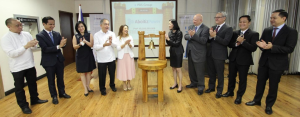 In photo are, from left: First Metro Investment Corporation Vice President Peter Bautista, BDO Capital and Investment Corporation First Vice President Jose Eduardo Quimpo II, BDO Unibank, Inc. Executive Vice President Cecilia Tan, Aboitiz Equity Ventures, Inc. Senior Vice President and Group Treasurer Gabby Mañalac, Aboitiz Power Corporation Chief Financial Officer Liza Luv Montelibano, PDS Group Officer-in-Charge and concurrently Philippine Depository & Trust Corp. President and COO Ma. Theresa Ravalo, Philippine Dealing & Exchange Corp. President and COO Antonino Nakpil, BPI Capital Corporation Managing Director Franz Bonoan, United Coconut Planters Bank First Vice President Arturo Lipio Jr., and SB Capital Investment Corporation President Noel Dayrit.