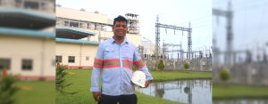 GROW FROM WITHIN. Anthony Ortega has been with AboitizPower subsidiary Therma South, Inc. (TSI) for seven years. He was a payong-payong driver before joining TSI as company driver and eventually becoming an auxiliary operator.