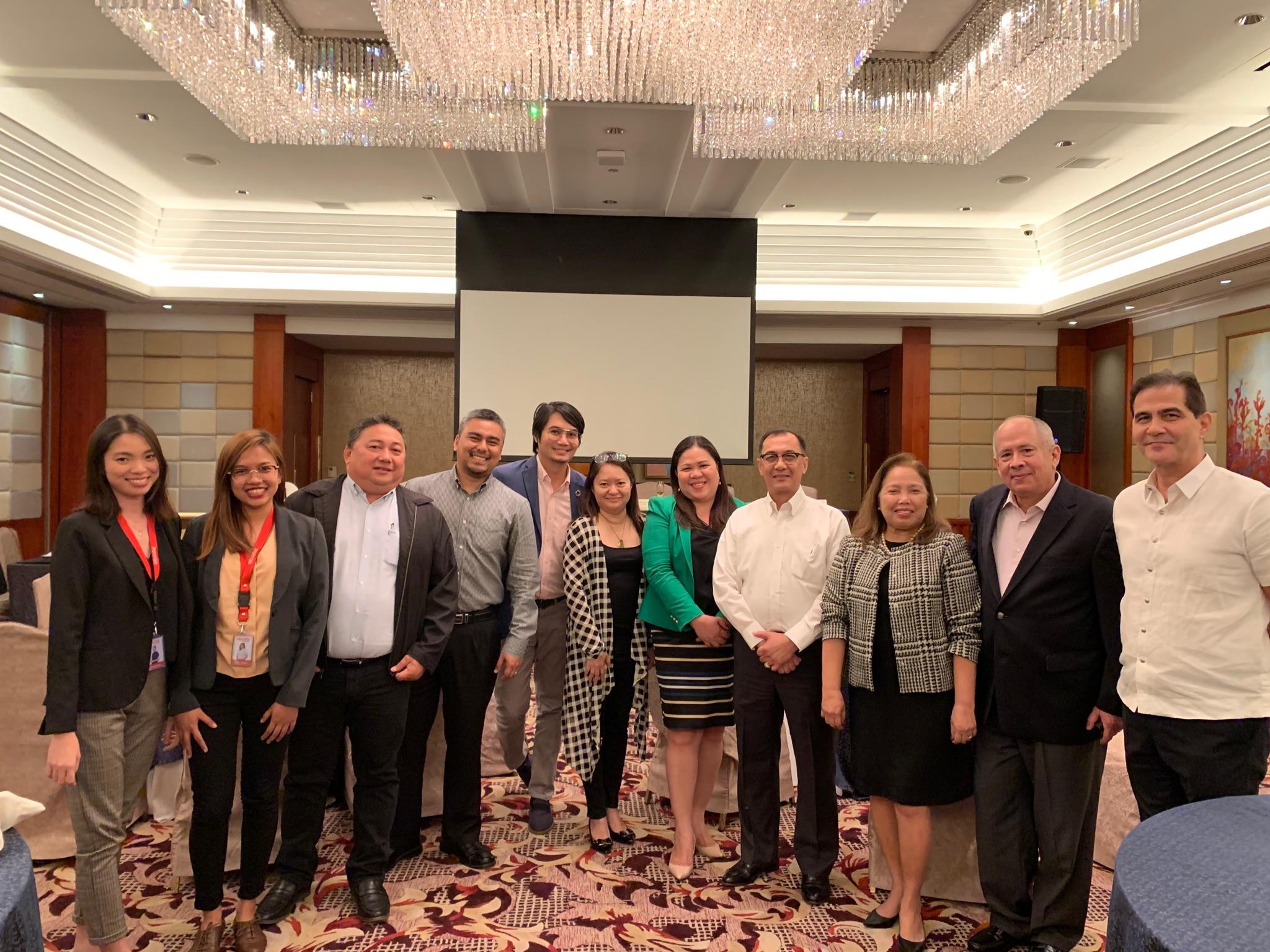 The ACI Kauban team with EIA and JJA.