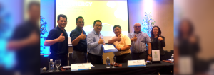 The contract for 10 megawatts MW, with an option to add 5 MW, was signed by officials of MORE Power, led by Roel Z. Castro (4th from left), President and Chief Operating Officer, and AboitizPower, represented by Alexander B. Coo (3rd from left), President and Chief Operating Officer of AP Renewables, Inc. (APRI).