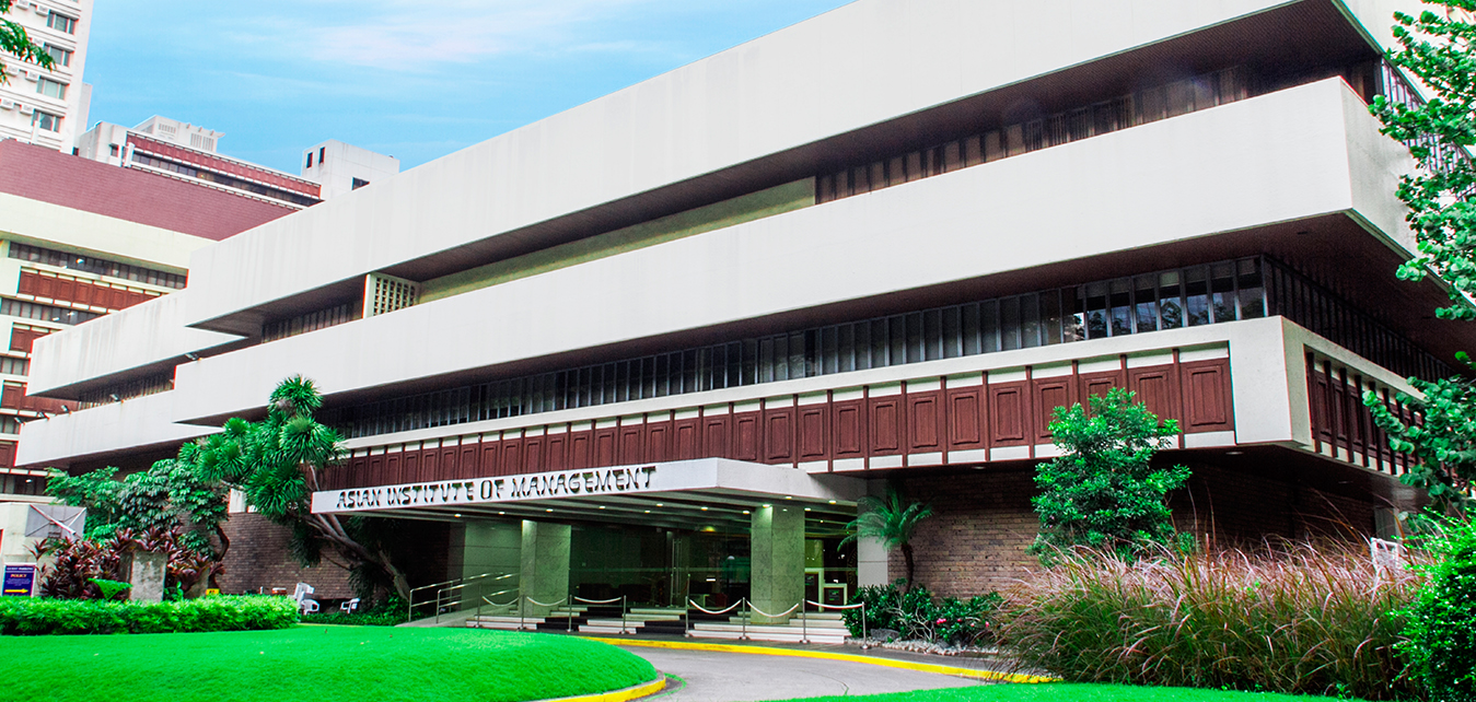 The Asian Institute of Management campus on Paseo de Roxas Makati City