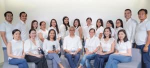 Front Row (from left): Irene Marie P. Qua, Frances Katrina C. Arsua, Mailene M. Dela Torre, Manuel Alberto R. Calayco, Pagan N. Arches, Adrianne Marie C. Alazas, Lehua C. Cabrera ; Back Row (from left):  Mark Devin A. Robles, Jake Patrick P. Posio, Chlaudine N. Carpio, Jhoanna Rheunia I. Palmiery, Joanne L. Ranada, Danielle G. Soldevilla, Strella Marie G. Sacdalan, Doris Sharry P. Salazar, Ma. Luz A. Torotot, Karen Joy F. Chua, Virgie Liza G. Mellendez, Gio Franco R. Gomez, Anecito D. Ranoa