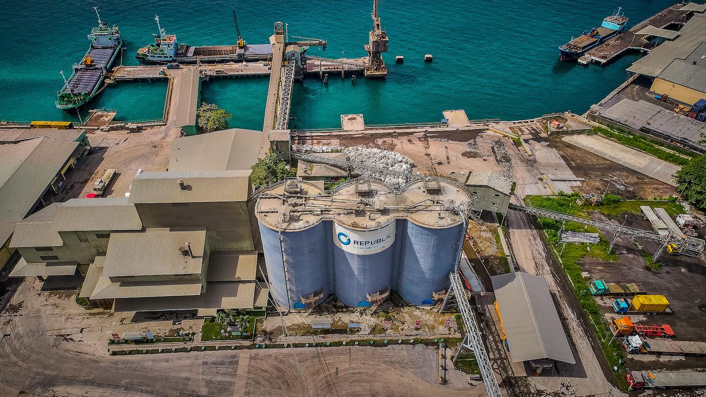 Republic Cement plant photo