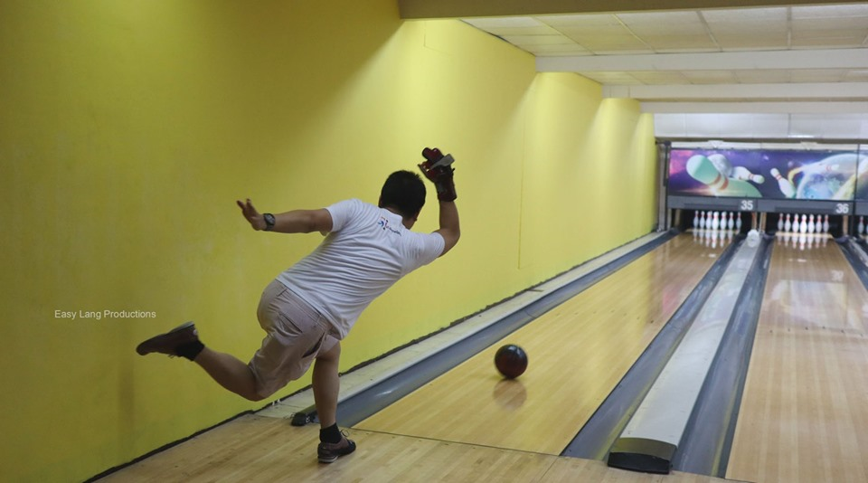 Watch out! An A-Bowler in action