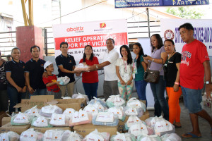 Davao Light sends hygiene kits to displaced fire victims 2
