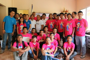 BUDDING PLUMBERS AND ELECTRICIANS. Residents of Barangays Cabadiangan and Tamiao in Compostela, Cebu finished their TESDA-facilitated vocational skills training.
