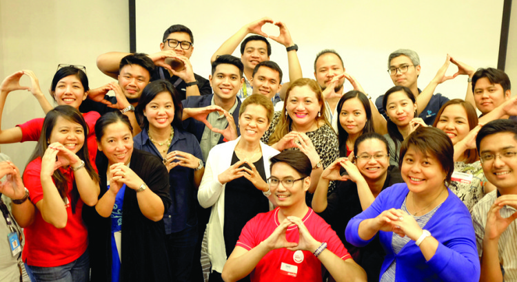 STEWARDS AND STORYTELLERS. The Reputation Management Department gathered the Aboitiz Eyes correspondents and Sustainability Stewards to beef up their skills writing effective stories and revving up processes for the sustainability report assurance in 2017.