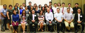 EVOLVING COMMUNICATION BEST PRACTICES. Team leaders move forward, move as one, move to enhance, protect and restore the Aboitiz brand.