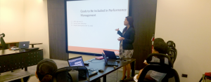 DRIVER FOR HARMONIZATION. Aboitiz is establishing processes that will drive the organization to identify, develop, and retain the right people and to ensure that they are in the right roles in the organization. Mia Zamora, AVP for Succession and Optimization discusses the goals and performance management module of ATMS.