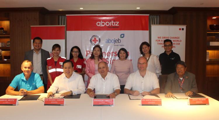 Aboitiz Foundation, Abojeb Company, and Philippine Red Cross