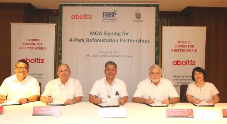 A-Park partnership MOA signing (2)