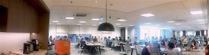 COLLAB SPACE. The agile workplace revolution encourages close collaboration towards a more efficient way of working.