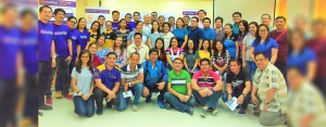 YES TO A #WEATHERWISER NATION: Weather 101 and Tropical Cyclone 101 participants from DepEd Region 3 together with representatives from City Savings Bank and Weather Philippines Foundation last December 12-13 in San Fernando City, Pampanga.
