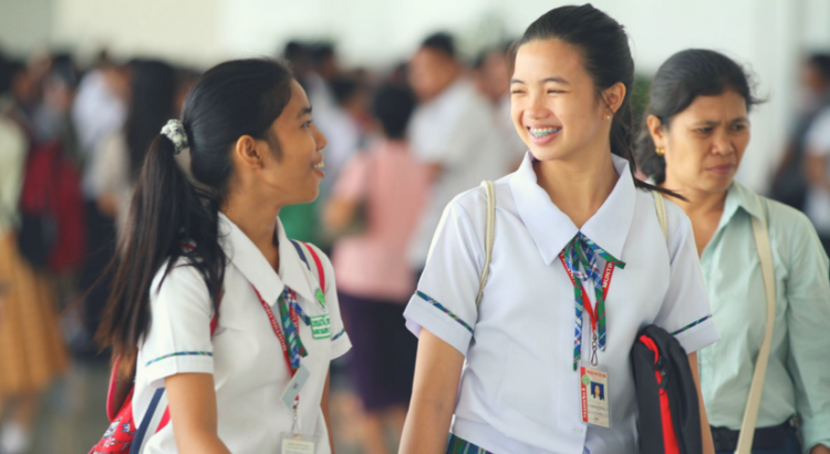 THE GIFT OF LEARNING. Aboitiz Foundation scholars attended a career clinic held at the SMX Convention Center in Pasay City.