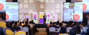 REINVENTING OUR FUTURE: Over 200 City Savings Bankers witnessed a refreshed and revamped edition of the Sales Rally held last February 4, 2018 at Radisson Blu Hotel, Cebu City.