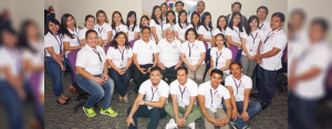 WE SIMPLY GIVE OUR BEST: City Savings Bank Internal Audit Team (CSBIIAT) with (seated, L-R) FVP – Chief Auditor Anna Bella Gatbonton, President and CEO Catalino Abacan, and Director Romy Ronquillo.