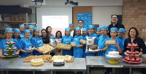 Graduation of PSG personnels' wives who underwent week-long bakery training from Pilmico last April 13, 2018