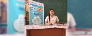 The Reading Corner donated by AboitizPower subsidiary AP Renewables, Inc. (APRI) is among Teacher Angie's favorite spots in her classroom. It is where she and her students read together and share meaningful stories with one another.