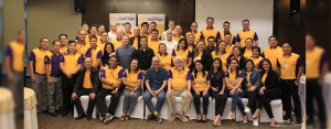 CULTURE AMIDST CHANGING TIMES: The CitySavings group heads, regional business and operations heads, and executive resource speakers at the conclusion of Capehan sa Bangko Year 4 last July 9 at City Sports Club, Cebu City.