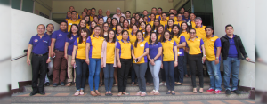 OPS TEAM IN ACTION: City Savings Bank Operations Team from Visayas and Mindanao joined by Board Member Romy Ronquillo (back row,  seventh from left), EVP and COO Levi Villanueva (back row, sixth from left), FVP - Branch Operations Group Head Linda Flor Hortezano               (front row, fourth from left), and AVP - Chief  Compliance Officer Atty. Candy Seguerra (back row, eight from left).