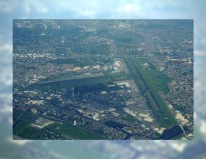 Aerial view of the Ninoy Aquino International Airport (from Wikipedia)