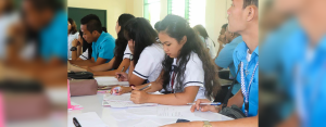 AboitizPower subsidiary Therma South, Inc. (TSI) helped more than 250 Grade 10 and 12 students of Inawayan National High School (INHS) become interview-ready through a Resume Writing Workshop held on August 15, 2018 and a Mock Interview on August 29 to 30, 2018.