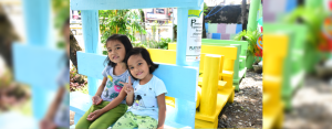 A GIFT OF FUN. The playground aims to provide a venue where children can have fun while developing their social and motor skills, thereby supporting their growth, development, and learning.