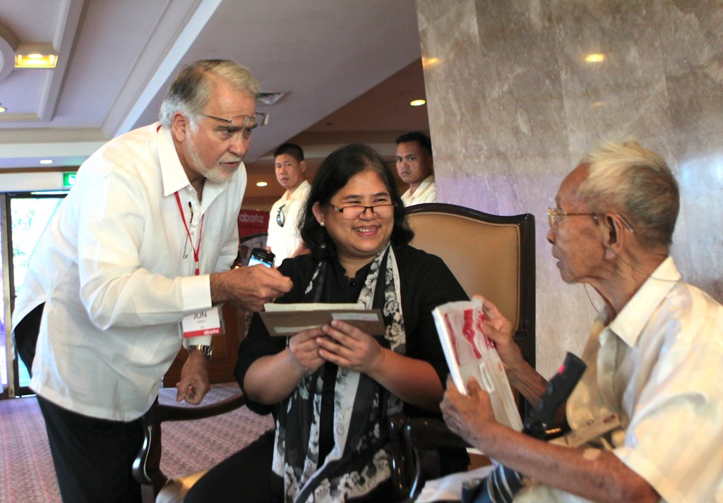 JRA made it a point to spend a few moments talking with Aboitiz shareholders at every ASM event, a sign of respect and humility towards people whose trust he valued.