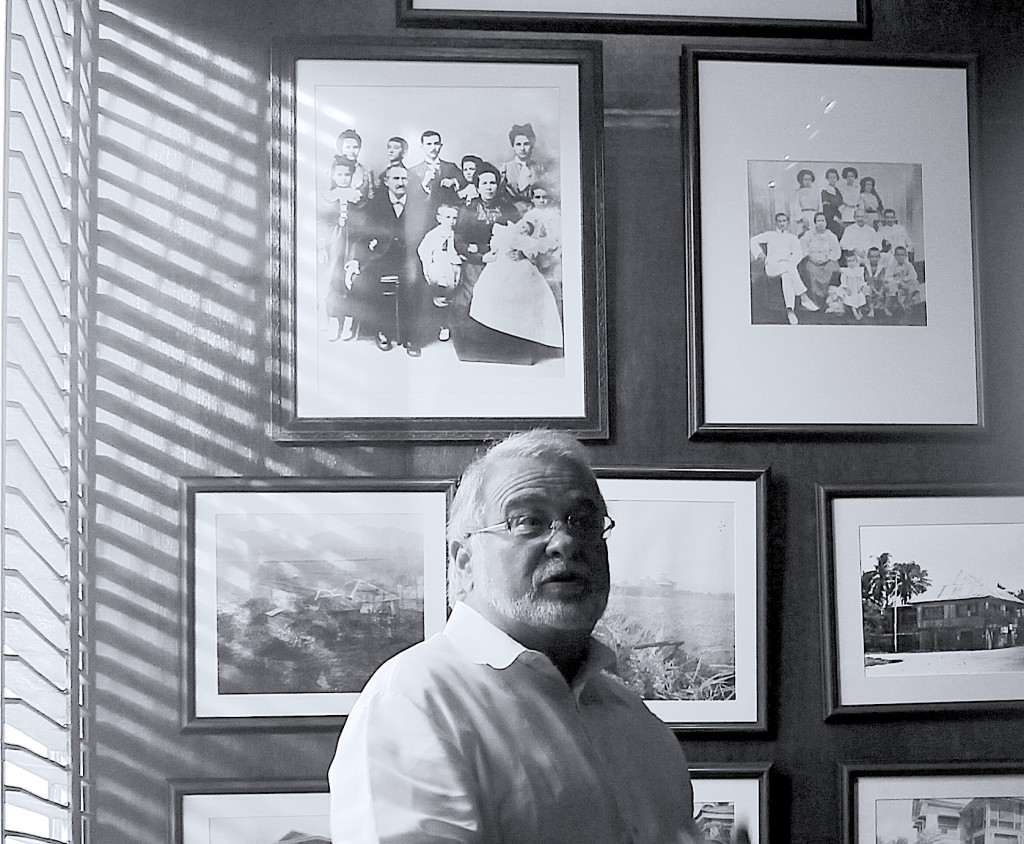 JRA gave tours of the Aboitiz family's ancestral home in Cebu, always full of stories that he would tell with as much enthusiasm as if sharing them for the first time.
