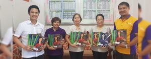 EDUCATOR EMPOWERMENT: Public school teachers from Pintong Gubat Elementary School  in Dasmariñas, Cavite receives their Project TEACH modules from CitySavings Dasmariñas Branch.