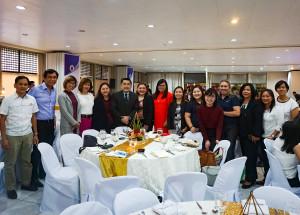 DEPED HONORS ABOITIZ. Aboitiz Group CSR teams at DepEd's Partners' Appreciation Day at Bulwagan ng Karunungan, DepEd Complex, Pasig City