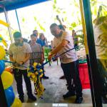 Ampatuan Mayor Datu Rasul Sangki leads the ribbon-cutting