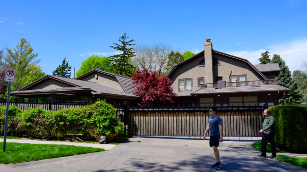 Warren Buffett's house, which he bought in 1958.