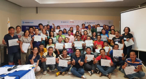 This year, the Aboitiz Foundation and WeatherPhilippines, together with its partners from the government and academic sectors, pioneered the Community-Based Disaster Risk Reduction and Management (CDRRM) as one of the efforts for its strengthened program-based approach to Disaster Resiliency.