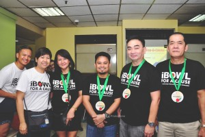 Group A 2nd Runner-up: UBP Team 1 composed of Miriam, Caris, Josef, and Abe, with Becks and Raul