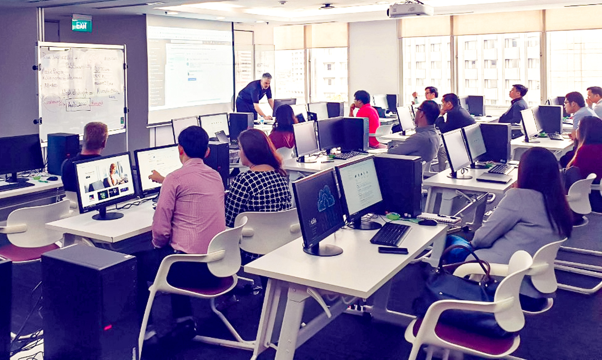 DDLS Philippines delivers quality IT training in a state-of-the-art environment.