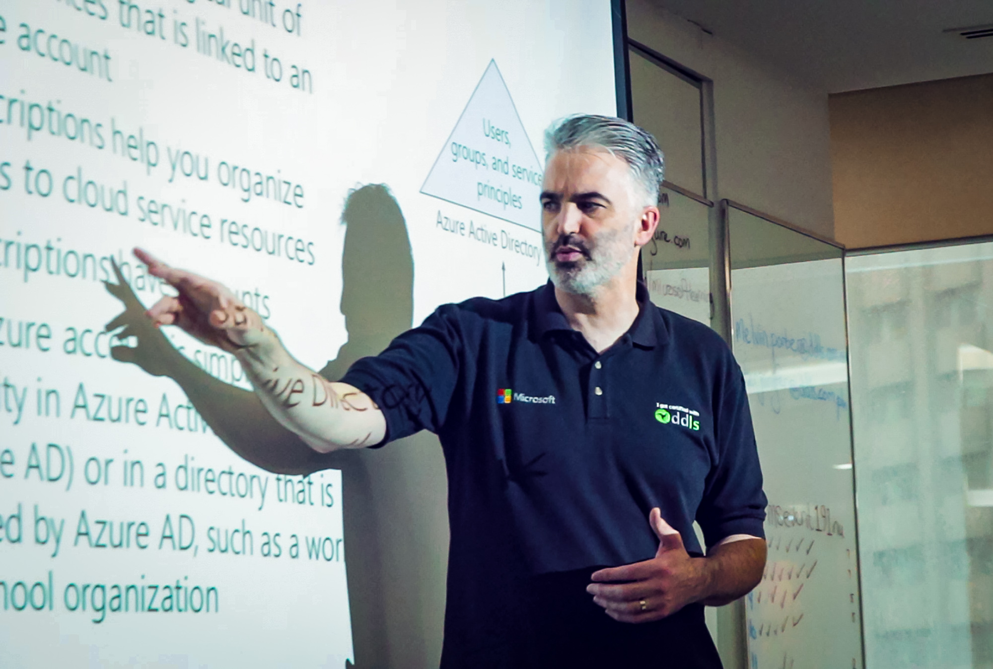 Melbourne-based Melvin Porter is one of the many highly-qualified and certified instructors of DDLS.