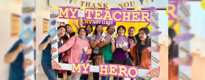 MY TEACHER, MY HERO: Teacher-clients were treated to a day of merriment as CitySavings branches nationwide prepared fun games, snacks, refreshments, and personalized tokens last October 5.